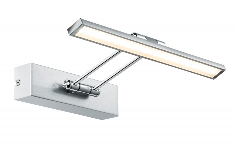 99895 The Galeria LED picture luminaire, Beam Thirty 5 W brushed nickel